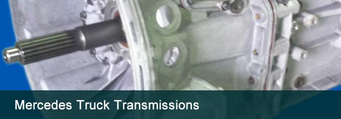 Mercedes Truck Transmission